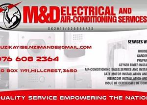 M&D Electrical And Air-Conditioning Services Cc